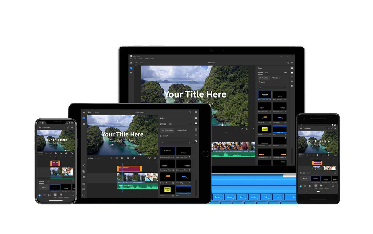 Adobe launches Premiere Rush CC, a video-editing app made for YouTubers https://t.co/cz5ZZgfMjd