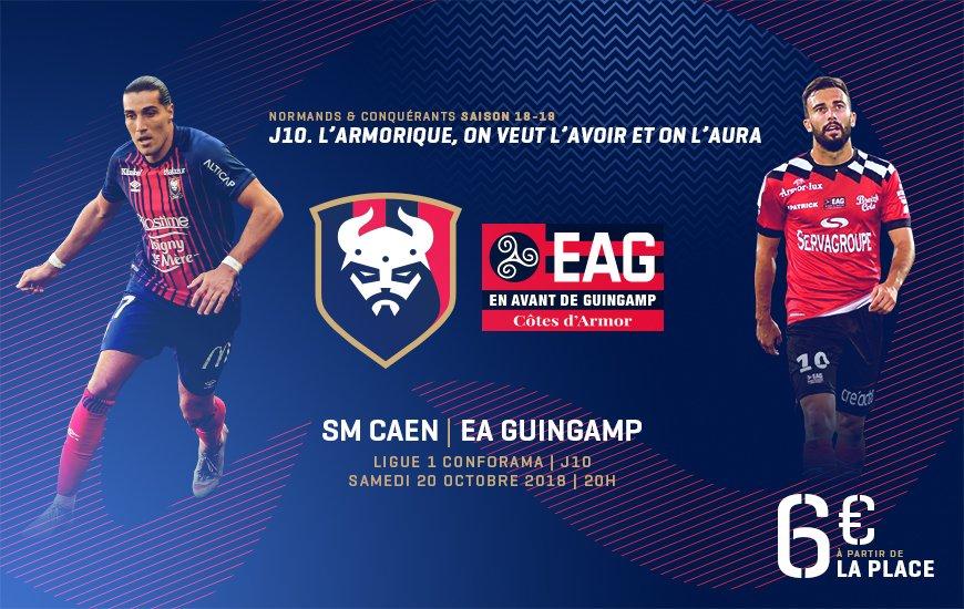 [10e journée de L1] SM Caen 0-0 EA Guingamp DpjRZAcW0AIeaU7