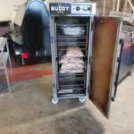#finalchecks #complete  #buddy48 #realwoodburning  #truesmokedflavour  All ready for packaging and delivering to #broncosrodeo #shefffield #americanstyle  #ribs #chicken #meat feeding the masses of Sheffield