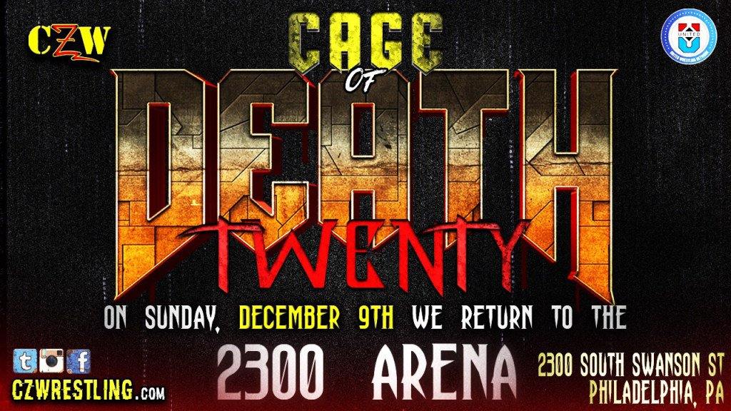 Wrestle World - CAGE OF DEATH: Cage of Death 20 returns home