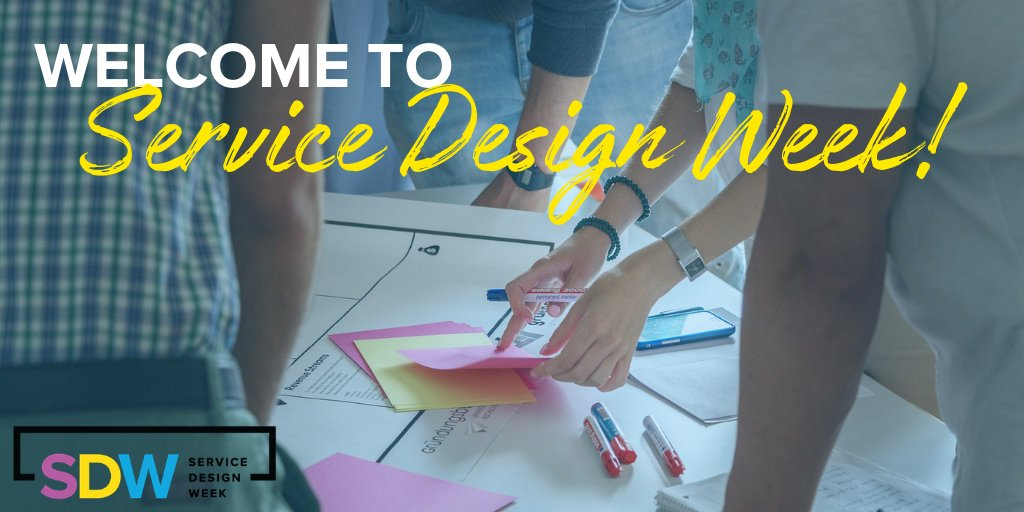 Welcome to #ServiceDesignWeek2018! We're going to kick-off the week with amazing workshops all day to get you armed with a new toolkit to take action in your organization. In the evening, join us for a welcome reception to network with #servicedesign leaders.