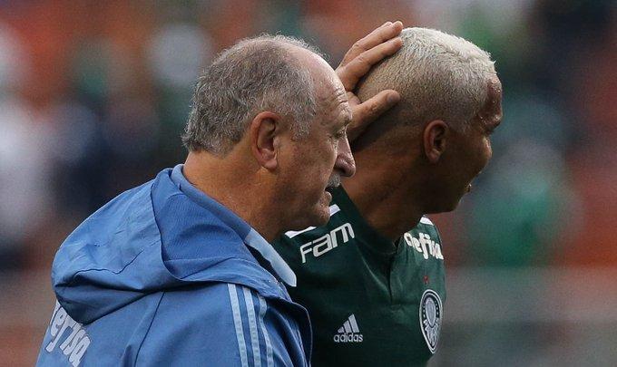 Deyverson ganha elogios de Felipão e dedica gols ao garoto Nickollas via @palmeirasptd Foto
