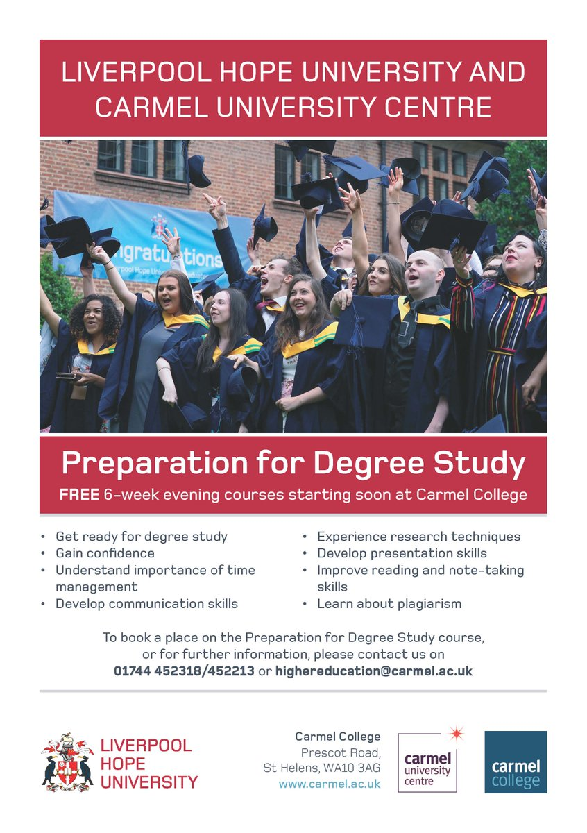 Sorry, degree courses for mature students