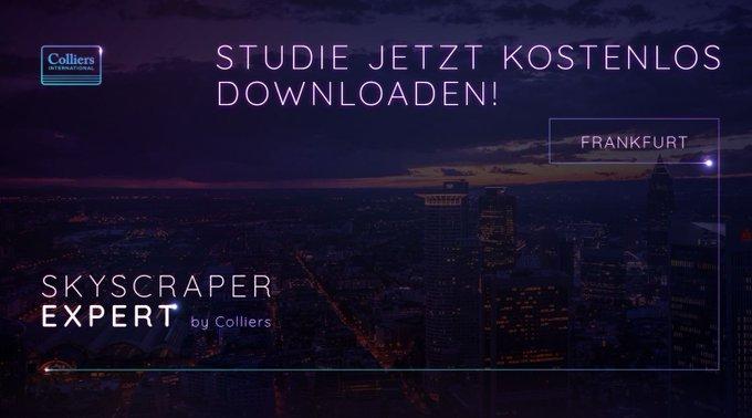 Frankfurt ist berühmt für seine #Skyline. <br>Doch welche Nutzer sprechen die Hochhäuser an? Welche Mieten erzielen sie und welche Flächen sind verfügbar? Alle Fakten zur #Hochaus-Landschaft in #Frankfurt in der Colliers-Studie &quot;#Skyscraper Expert&quot;:<br> t.co/d0cIRHhAdB