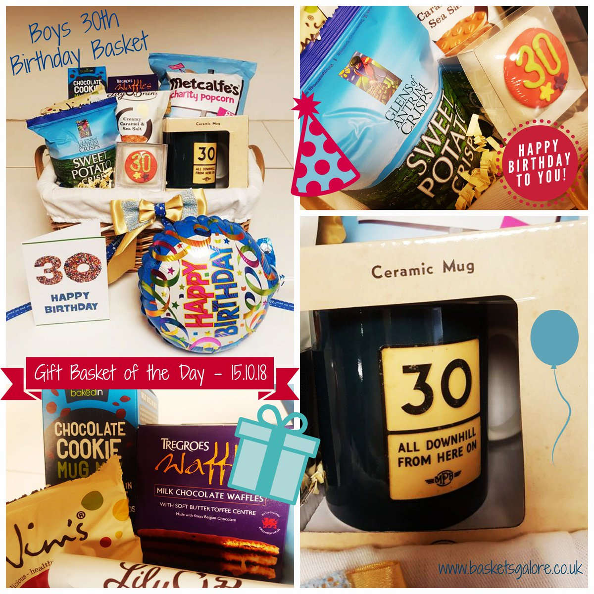 30th Birthday Gift Basket Shop Now Bitly 2CM5Z7z F RT To Win A Giftbasketsrule 30thbirthday Giftsforhimpictwitter