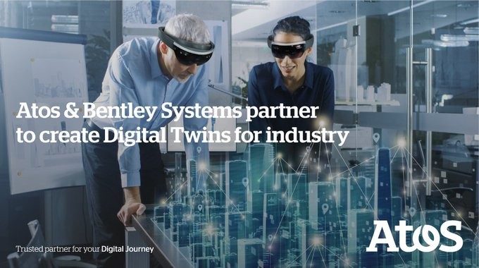 We announce strategic partnership with @BentleySystems to create #Cloud-based #DigitalTwins...