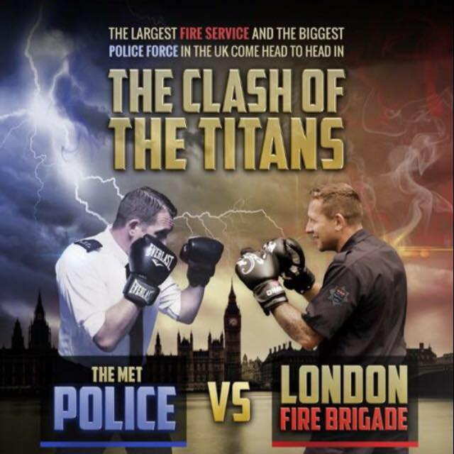 Tickets available for charity boxing 'Clash of the Titans' event between firefighters & police officers on 2 December https://t.co/VIDRBtqoef