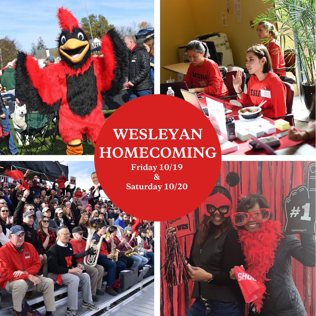 test Twitter Media - Homecoming is this weekend! Attend games, visit art exhibitions, and cheer on the Cards as we take on Amherst during this year's Homecoming game! 🏈 Don't forget to wear red and black! #WesPride #RollCards #WesHome 🔴⚫ Full schedule: https://t.co/3SRO4ugXg0 https://t.co/65U6hwZj7c