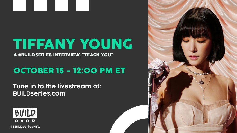 Don't miss @tiffanyyoung live on https://t.co/M8xULp80xC at 12PM ET! #TEACHYOU