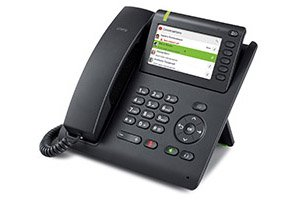 The OpenScape Desk Phone CP600E brings similar communication capabilities as the CP600 but as...