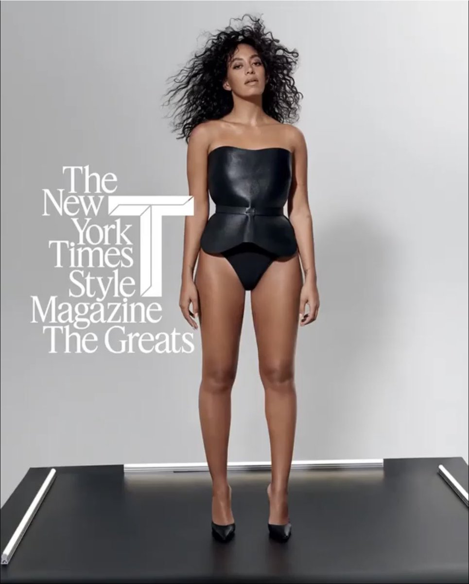 Solange by Collier Schorr, T Magazine, The Greats Issue.