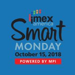 Image for the Tweet beginning: Open to #IMEX18 attendees, #IMEXSmartMonday