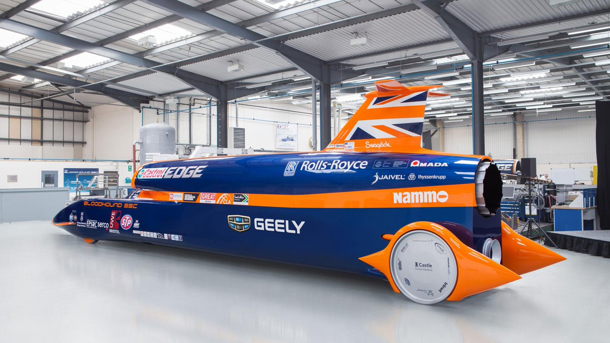 Bloodhound project enters administration. The land-speed record project has run out of money. But all hope is not lost...  https://www. topgear.com/car-news/motor sport/bloodhound-project-goes-administration &nbsp; … <br>http://pic.twitter.com/TDW4FTncTe