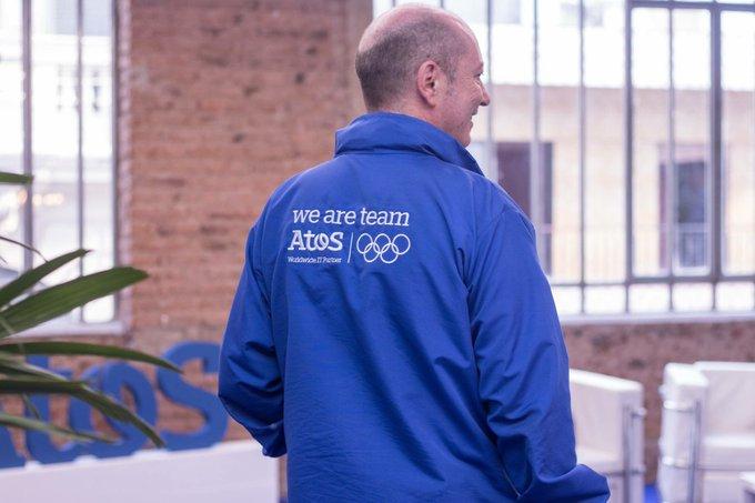 😎 Al igual que los atletas 🏊🏻♀️⛹🏻♂️ el #TeamAtos...