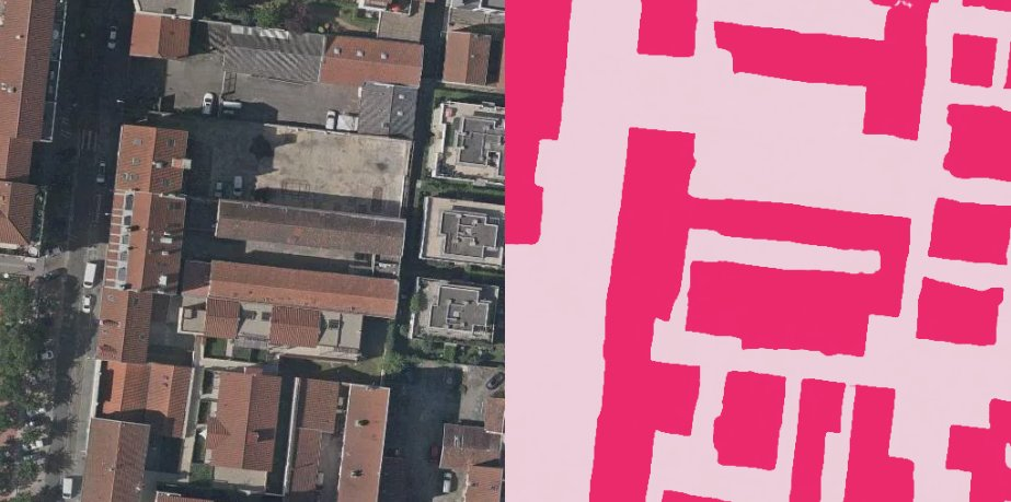 Neat-EO.pink buildings segmentation from Imagery