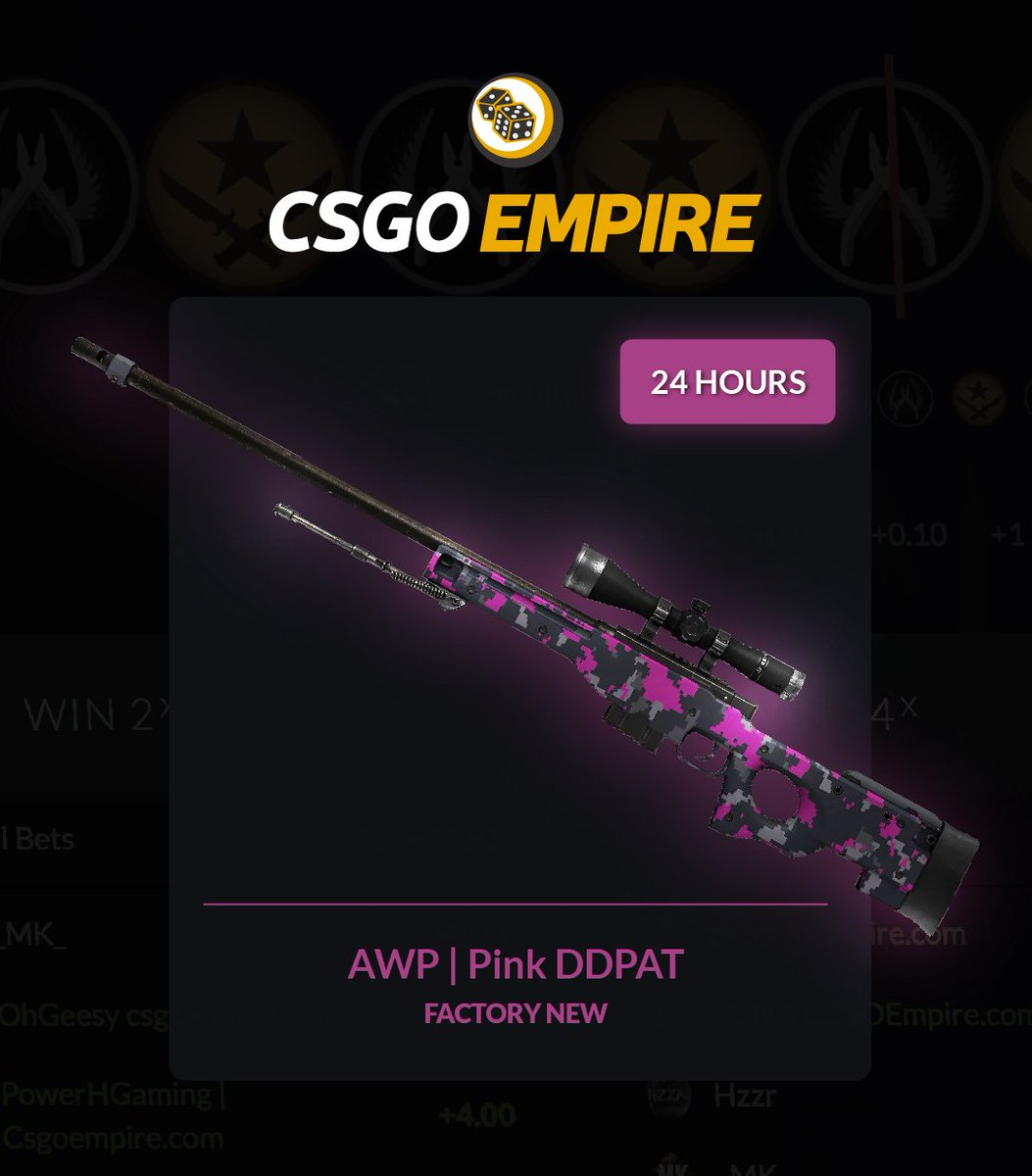 AWP | Pink DDPAT (FN) Giveaway ???? To enter: -RT -Follow GL ????