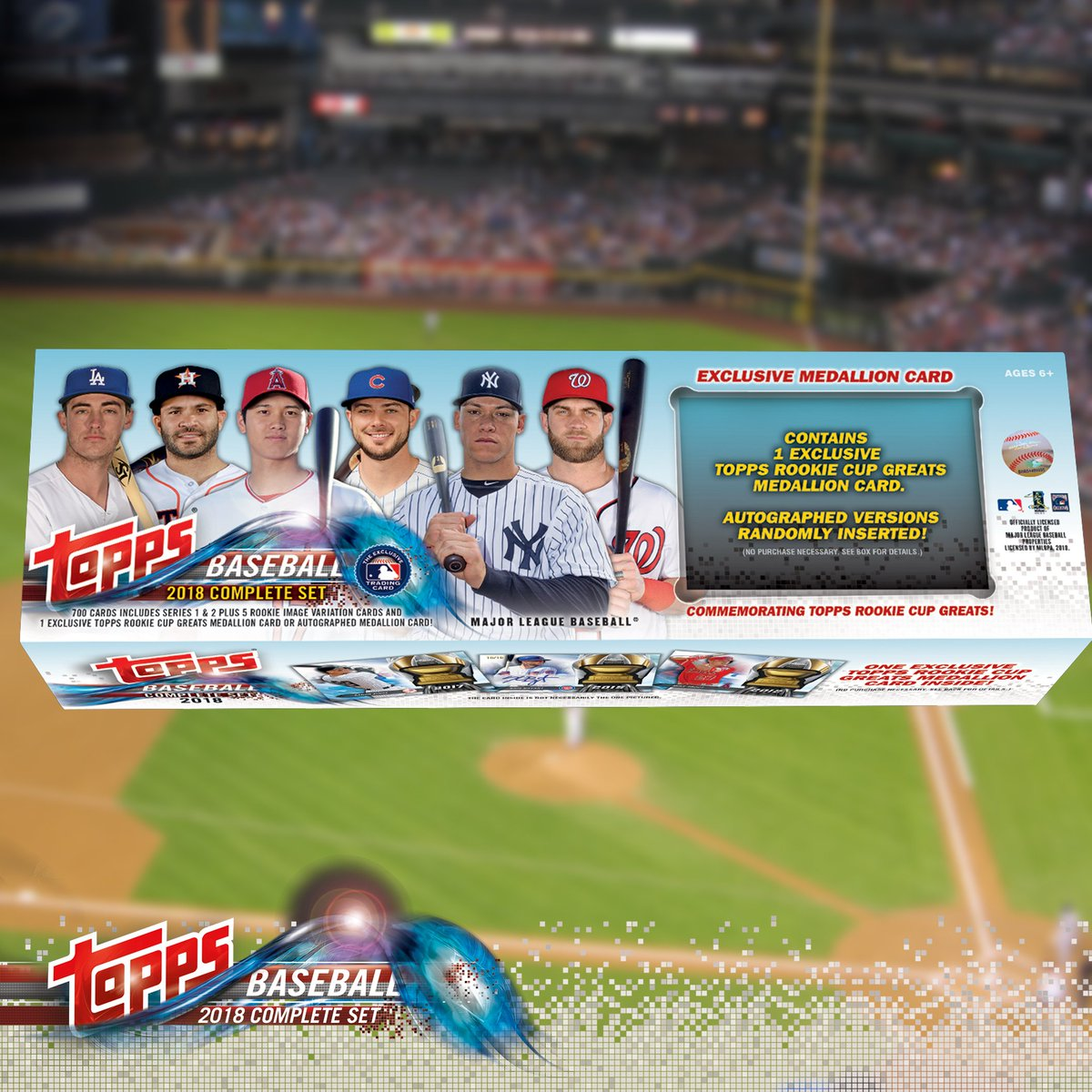 Excell Marketing Official On Twitter Each 2018 Topps Mlb
