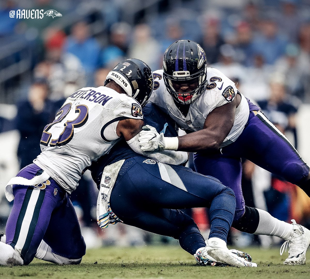 #1 in Total Defense (270.8 YPG) #1 in Sacks (26) 0 second-half TDs allowed Ravens. Defense. 😈