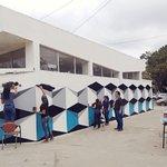 Image for the Tweet beginning: Estudiantes de Artes Plásticas, bajo