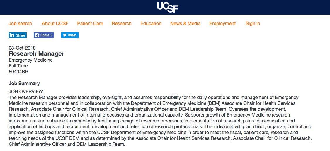 UCSF Emergency Med (@ucsfdem) | Twitter