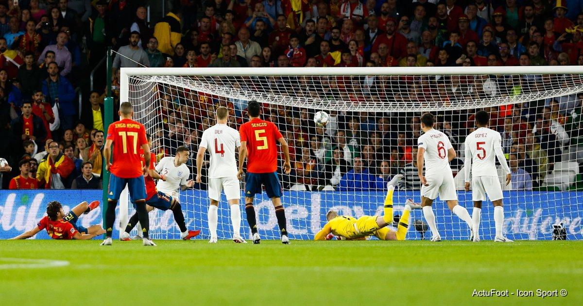 ⏱ TERMINÉ !  ESPAGNE 🇪🇸  2-3  🏴 ANGLETERRE  Au terme d'une rencontre intéressante à suivre, les Three Lions s'imposent face à l'Espagne. #ESPANG