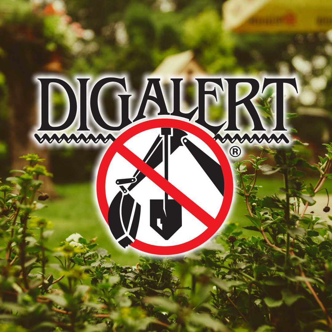 Making some changes to your property?  Avoid damaging utility lines below your property by…