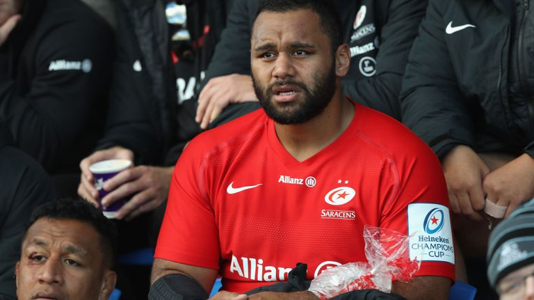 test Twitter Media - Billy Vunipola has been ruled out for 12 weeks after breaking his left arm and will miss England's autumn internationals https://t.co/qgTPdCtP4q https://t.co/LfWBXnHf6u