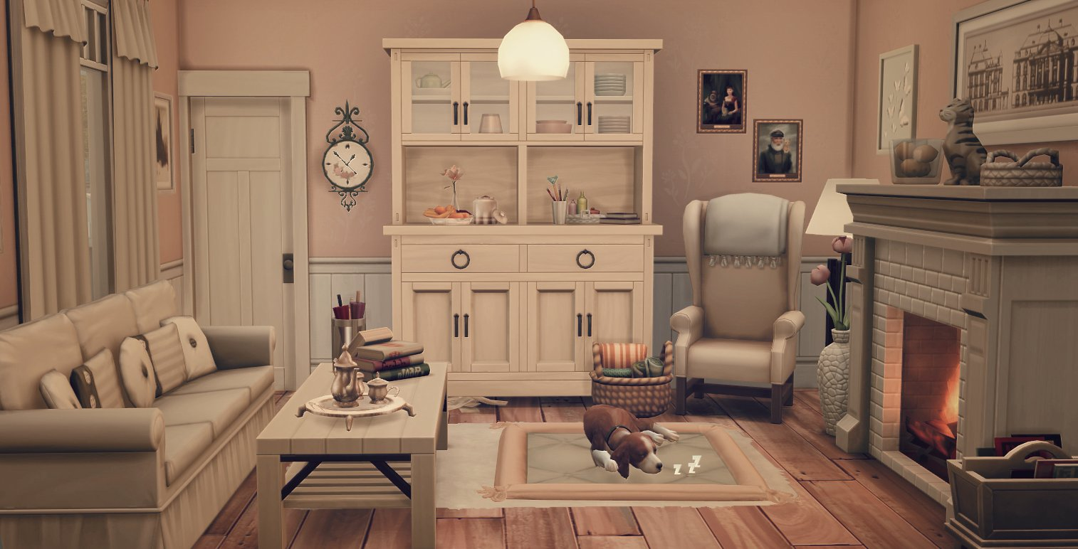 here is another room which i decorated with #thesims4 �� @thesims #thesims https://t.co/rAGK1LeiEr