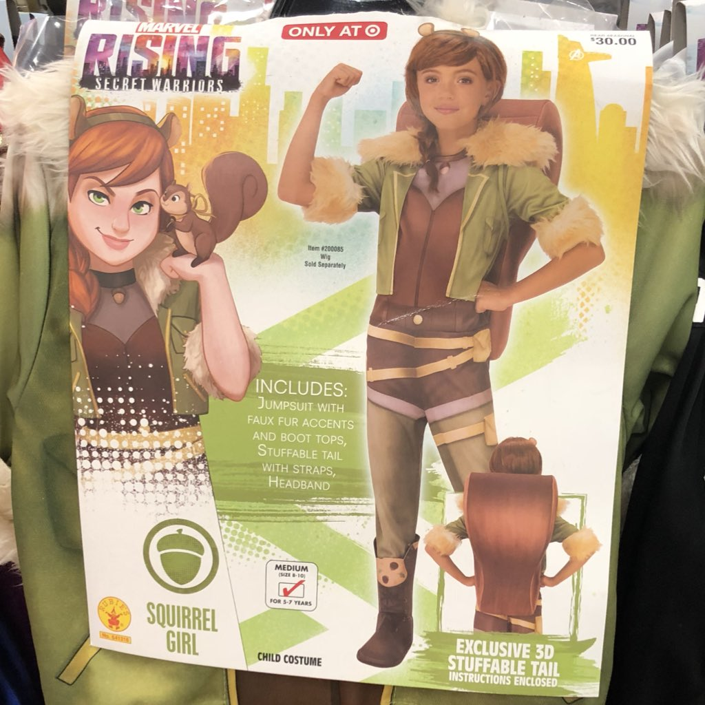 Image result for squirrel girl halloween costume