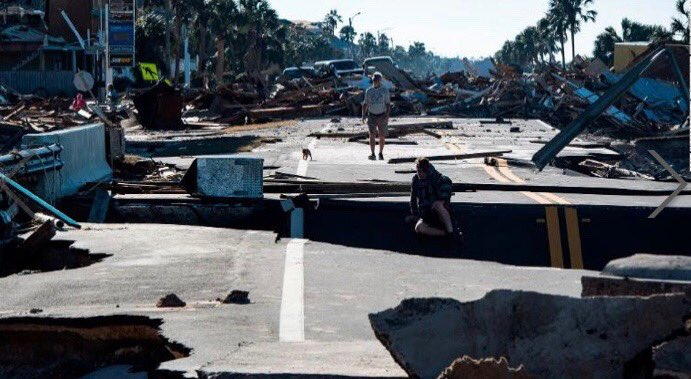 @MusicForRelief is responding with partners throughout the territories destroyed by #HurricaneMichael  #MexicoBeachFl shown here and the search for those unaccounted for #DisasterRelief #hurricane #landfall #rescue<br>http://pic.twitter.com/pvGp0OVwxT