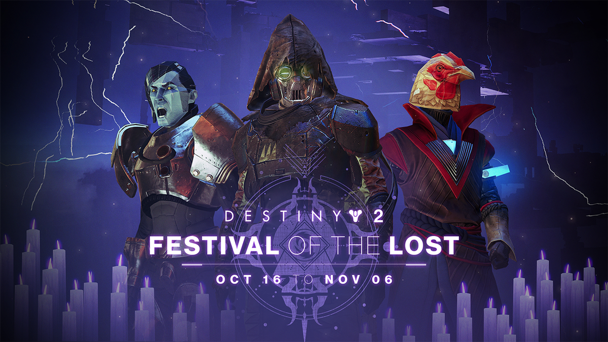 An all-new activity, The Haunted Forest, awaits all #Destiny2 players during Festival of the Lost. Join the celebration and earn new masks, gear, quests, bounties, triumphs, and more.