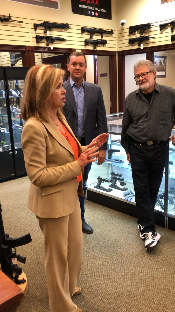 @VoteMarsha and @ChrisCoxNRA in #Knoxville #TN to highlight her @NRA endorsement and to get the vote out for November 6, Early Voting October 17 - November 1 #TheMegaBullhornofTruth delivering the Truth to the #WorldWideWeb through the #TNValley for more than 14 years