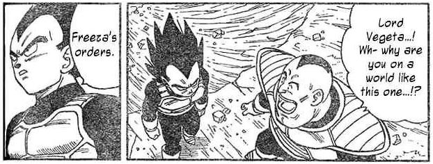 Friendly reminder that Vegeta still works for Freeza for some reason in Neko Majin, which happens after End of Z and didnt make sense back in the day. Things can change now that Freeza is alive. 👀