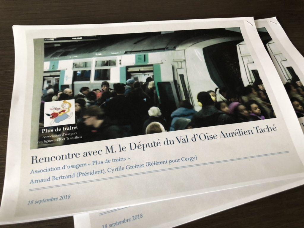 Pour se rendre au travail, les cergy-pontains subissent une situation intenable sur le #RERA et la #LigneL @Plusdetrains Nous avons besoin de plus de trains ! @IDFmobilites @vpecresse @LaRepEnMarche95