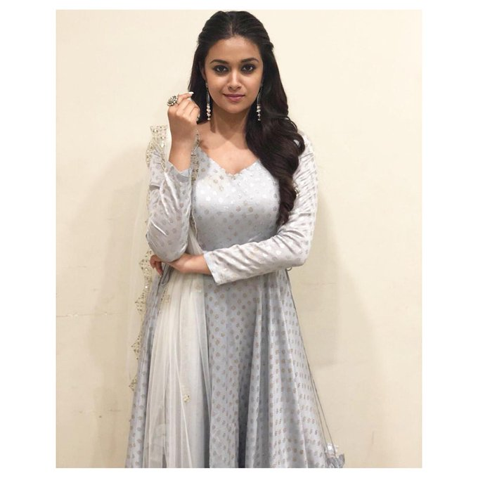Well, Keerthy Suresh Does IT AGAIN