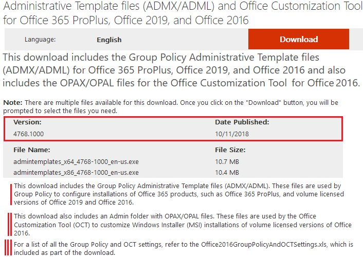 Office 2019 administrative template files Download + Cracked Version