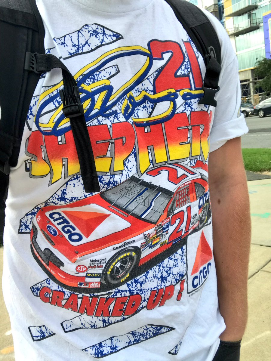 Latest #NASCARThrowback pickup is a @woodbrothers21 classic with none other than the Roller Disco Legend Morgan Shepherd! #FordOutFront #WoodBrothers21 #Citgo <br>http://pic.twitter.com/nN5S7ObDnd