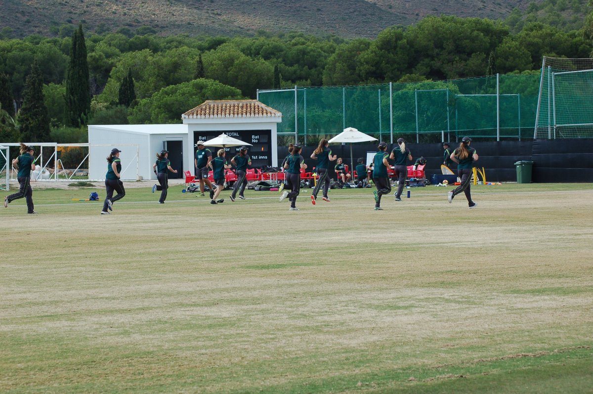 Great four days preparing for the T20 World Cup in @LaMangaClub. Only 13 days until we leave #BackingGreen #t20WorldCup