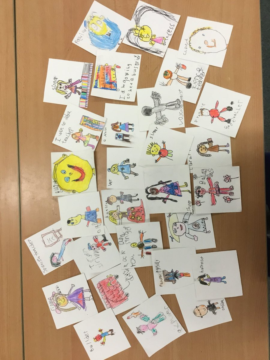test Twitter Media - Our new bookshelf text is 'Amazing Grace'. In the story Grace's family tell her she can be anything that she wants to be, as long as she puts her mind to it. So we asked Year 1 what they would like to be... #gorseypshe #gorseyy1 https://t.co/90OcuV2h3v