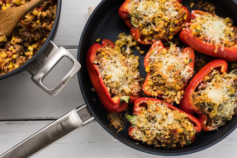 These stuffed bell peppers are the perfect easy #dinner recipe! https://t.co/6sEAVm5vBf https://t.co/pzyOrz4Iox