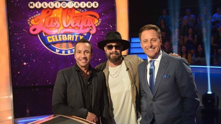 Catch @aj_mclean and @howied playing for St. Jude's today on @MillionaireTV's Las Vegas Celebrity Week! 🙌🏻 Check your local listings.