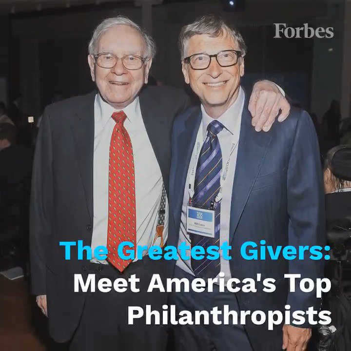 Meet the philanthropists who gave away the most money in 2017: https://t.co/Gn0yNd18Dp https://t.co/dg9O6ksK5b