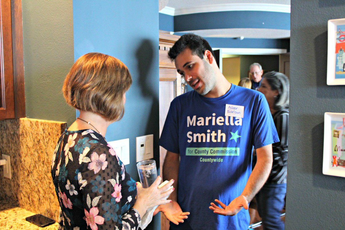 @MariellaSmith will be an outstanding Hillsborough County Commissioner! She reminds me of Pam Iorio, Jan Platt and Pat Frank...honest, loves #TampaBay and our natural environment, with an affinity for hardworking citizens and better transportation.<br>http://pic.twitter.com/33dZlMFkRf