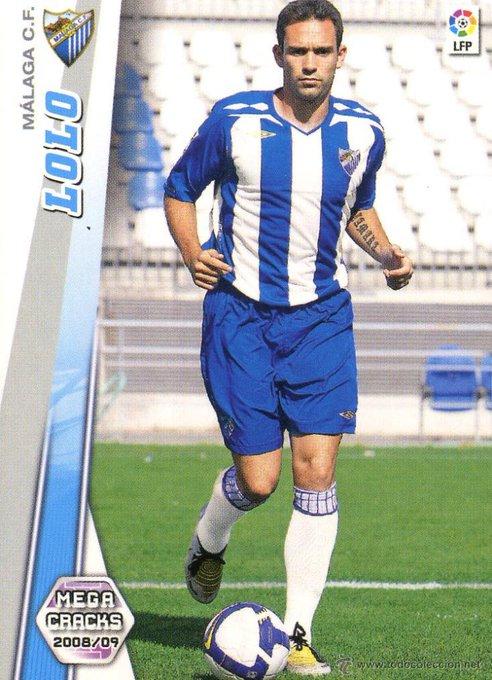 LOLO Llegó al Málaga en la temporada 08-09 cedido por el Sevilla. Tapia le dio confianza y respondió con buenas actuaciones. Años más tarde recaló en Elche dónde permaneció durante 2 temporadas. Foto