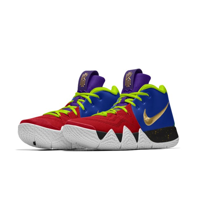 "big sale eca49 97f55 The ""Opening Night""  NIKEiD Kyrie 4 designed by Collin Sexton https   store. nike.com us en us product kyrie-4-id-shoes  …pic.twitter.com HRJxpDPFLi"