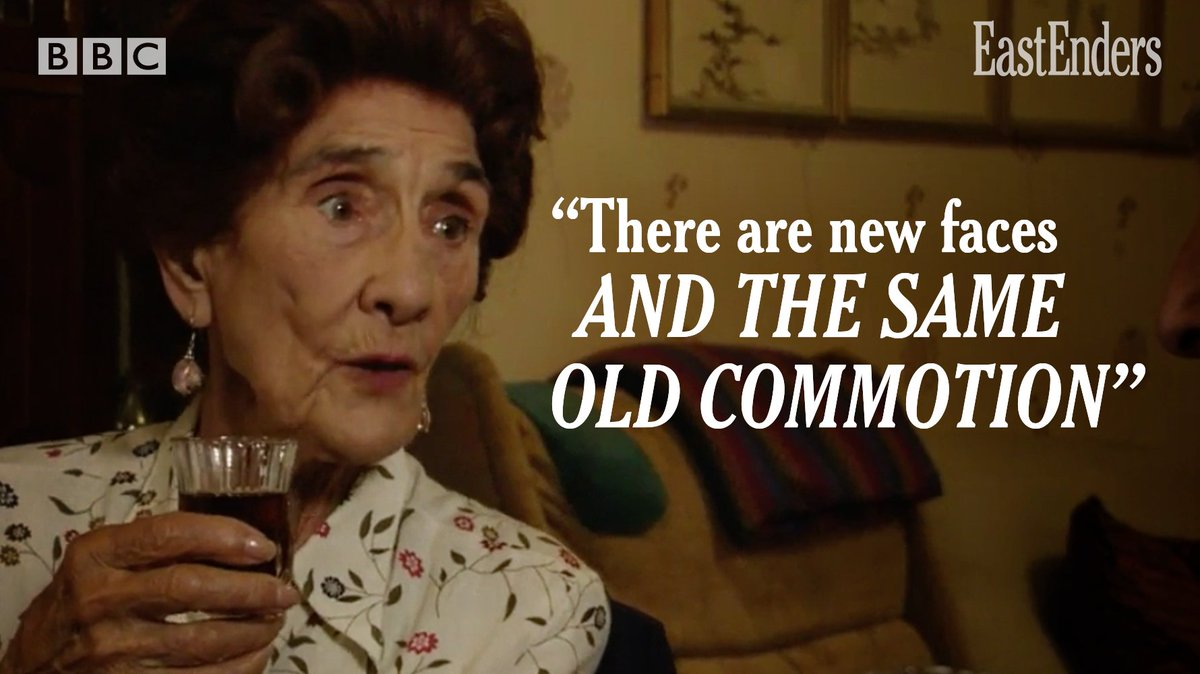 For anyone who's missed a few #EastEnders episodes, here's Dot to bring you up to speed.