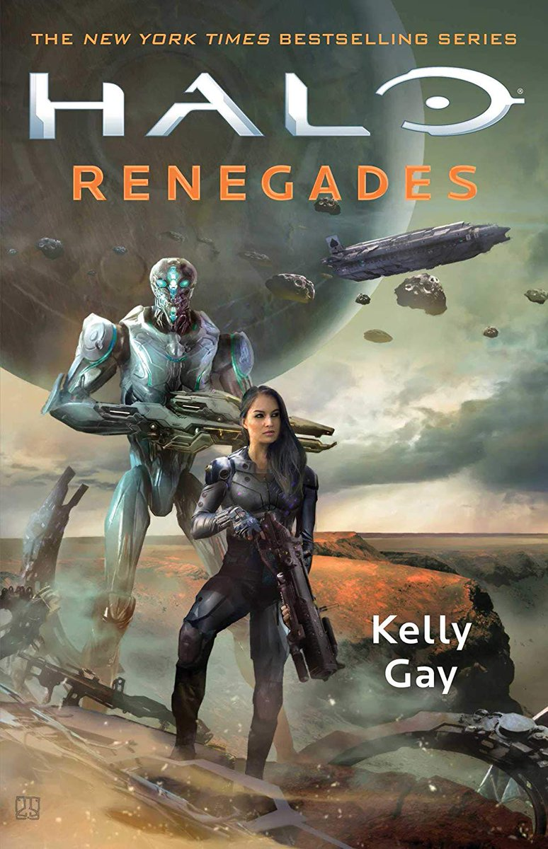 In a post-Covenant War galaxy littered with scrap, Rion Forge has made a name for herself as an expert salvager – one with a knack for finding the impossible. Halo: Renegades by @KellyHGay hits shelves Feb 19, 2019. amazon.com/HALO-Renegades…