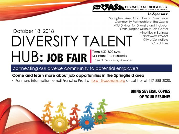 Diversity Career Fair 2020.City Of Sgf Jobs On Twitter We Are So Excited To Attend