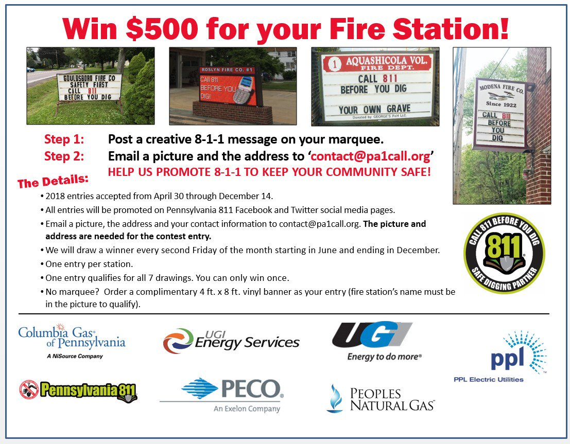 @ATFD17 Thanks! You should enter the #Firehouse811 contest! Two more chances to $500 for your fire…