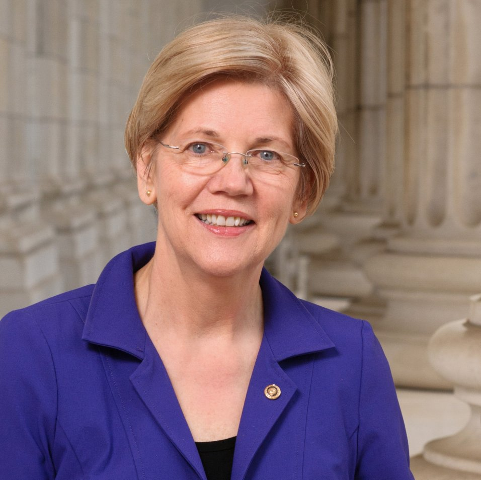 """I'll just put this out to the left-of-center folks who follow me: Are you comfortable with Elizabeth Warren being described as """"a woman of color""""? Because that's what Harvard Law School said she was."""